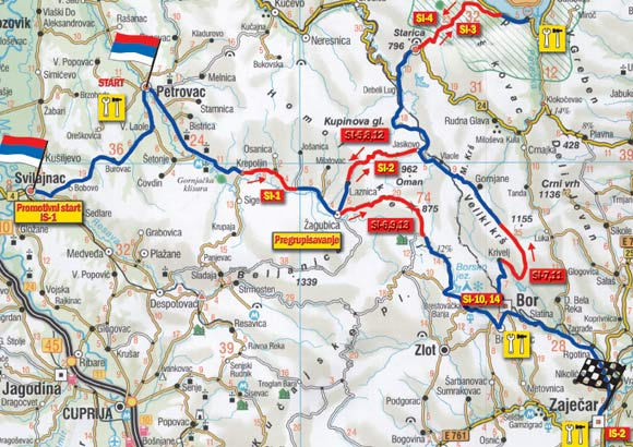 karta istocne srbije 1. G.A.G.A. Ford Rally mapa   Putevima Istočne Srbije   Automagazin karta istocne srbije