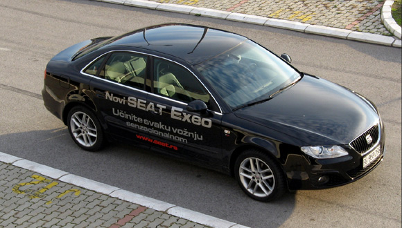 test seat exeo 2 0 tdi audi emocion automagazin. Black Bedroom Furniture Sets. Home Design Ideas