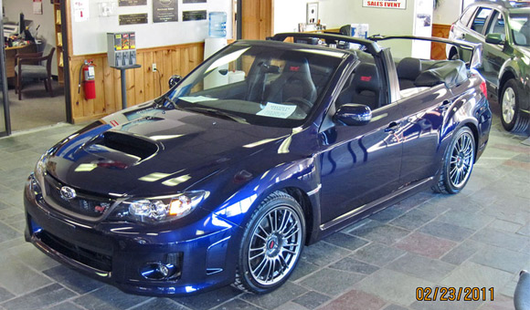 Subaru WRX STI Convertible: sportista ostao bez krova