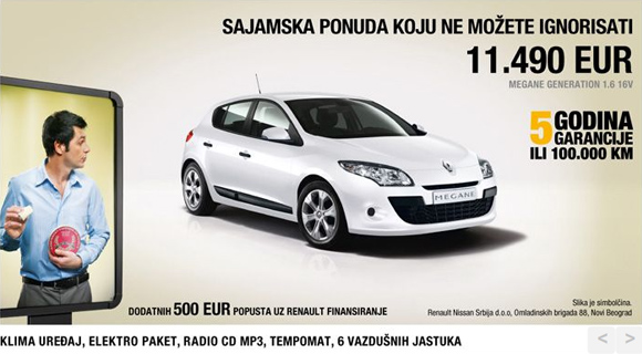 sajamska ponuda renault megane generation 1 6 16v za automagazin. Black Bedroom Furniture Sets. Home Design Ideas