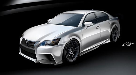 SEMA 2011: Lexus GS 350 F Sport od Five Axisa