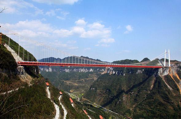 Kinezi u saobraćaj pustili najviši viseći most na svetu - Automagazin