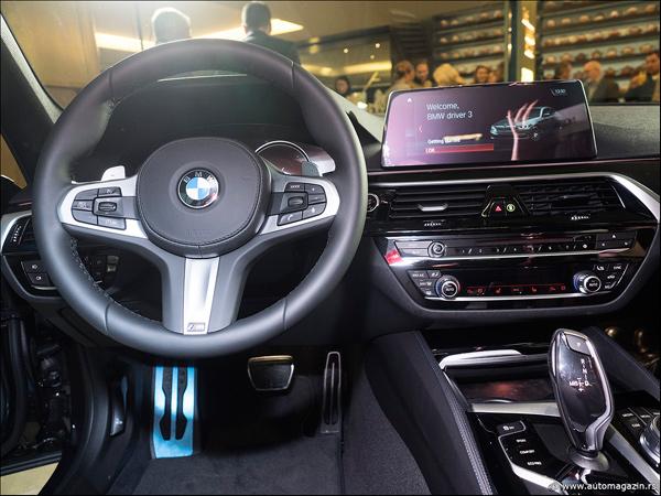 Novi BMW serije 5 stigao u Srbiju - prvi naši utisci (FOTO)