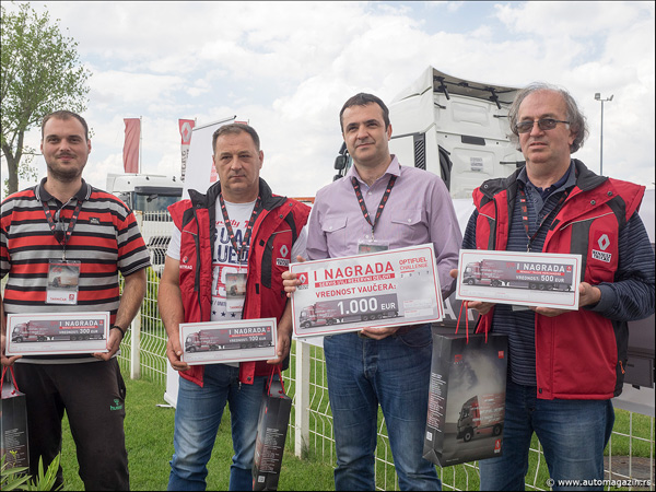 Vozač Unitraga iz Užica pobednik nacionalnog takmičenja u ekonomičnoj vožnji Renault Trucks kamiona