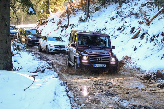 Mercedes-Benz Off-Road avantura na Jahorini