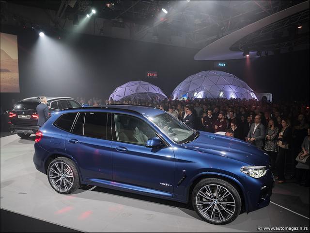 Novi BMW X3 (2018) stigao u Srbiju (FOTO)