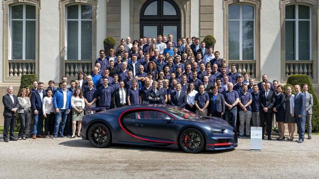 Bugatti proizveo 100. primerak modela Chiron