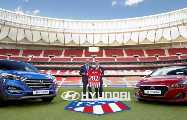 Hyundai Motor započinje partnerstvo sa fudbalskim klubom Atletiko Madrid