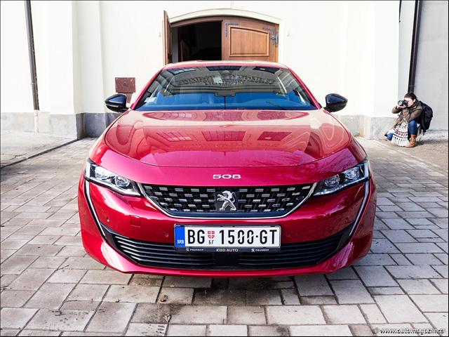 Stigao je novi Peugeot 508 - prvi put na srpskim putevima (FOTO)