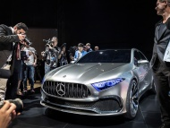Mercedes-Benz Concept A Sedan - Shanghai 2017