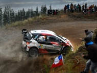 Ott Tanak - Toyota Yaris WRC - Rally Chile