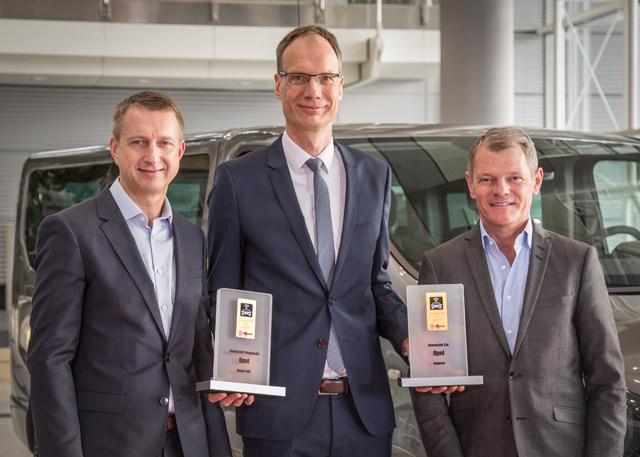 Connected Car Awards - priznanja za Opel Insigniju i Opel Vivaro Life