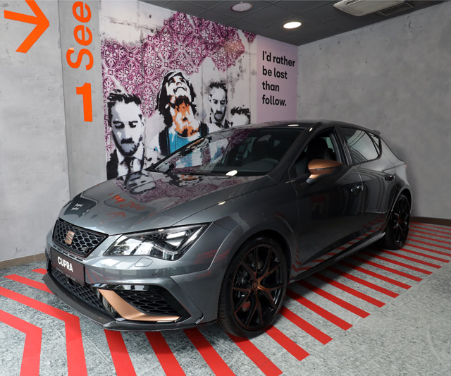 SEAT Boutique Concept - Originalni pristup prodaji automobila u Novom Sadu