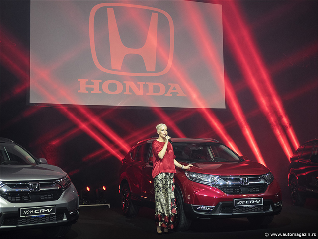 Nova Honda CR-V ekskluzivno predstavljena u Srbiji
