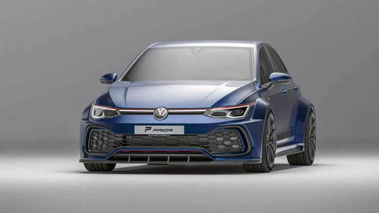 Novi VW Golf GTI dobio atraktivni body-kit od Prior Designa - prve fotografije