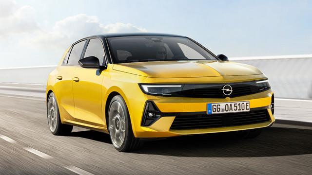 Nova Opel Astra (2022): samouverena, električna i efikasna